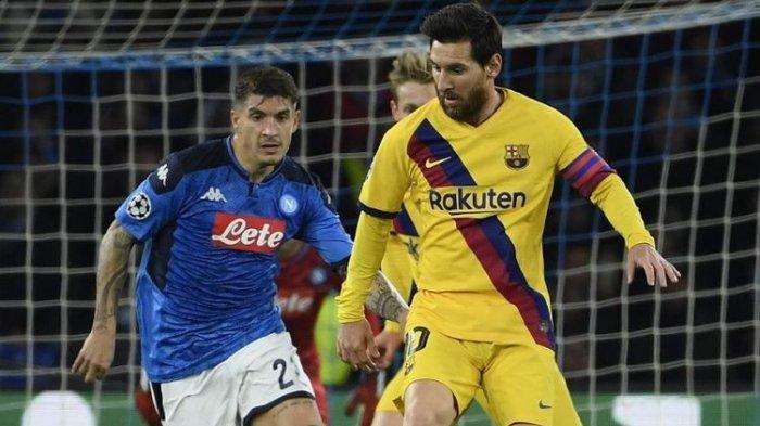 JELANG Barcelona vs Napoli Liga Champions, Memperebutkan Tiket Menuju Perempat Final