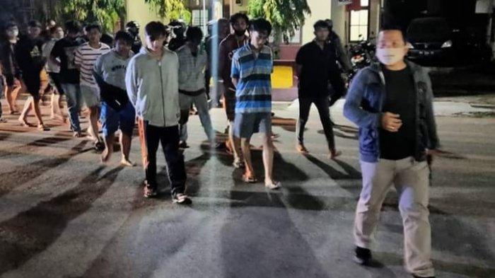 Warga Resah dengar Suara Bising dan Ribut, Belasan Pebalap Liar di Palangkaraya Dilaporkan