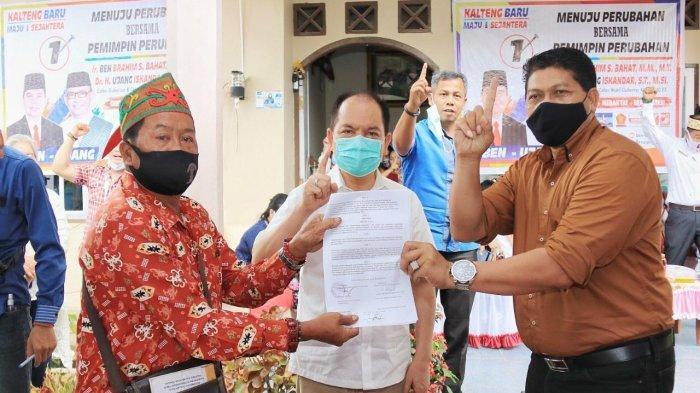 Sodorkan Kontrak Politik, Warga Tualan Hulu Kotim Siap Menangkan Ben-Ujang di Pilkada Kalteng