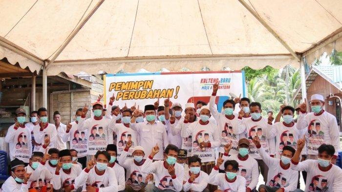Pilkada Kalteng 2020: Bahagianya Warga Bahaur Permai Ada Program BPJS Gratis dari Ben-Ujang