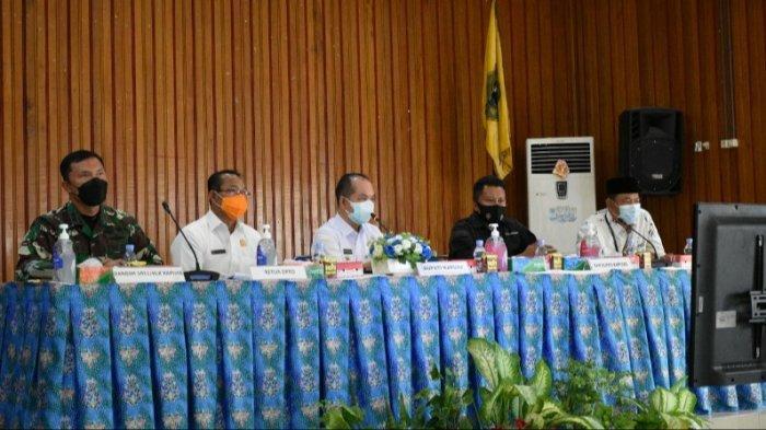 Ben Brahim Perpanjang WFH ASN Pemkab Kapuas, Meski PPKM Turun ke Level 2