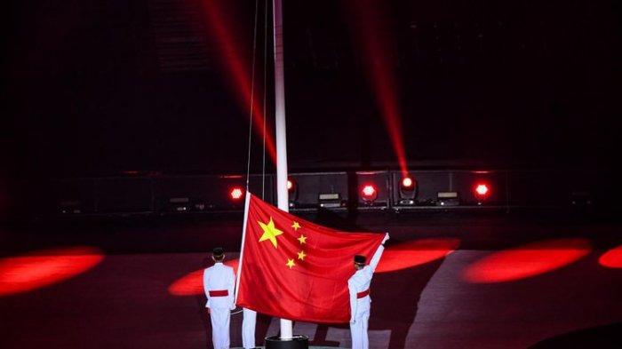 Masih Ada yang Gagal Paham Bendera China Dikibarkan di Penutupan Asian Games, Ini Penjelasannya
