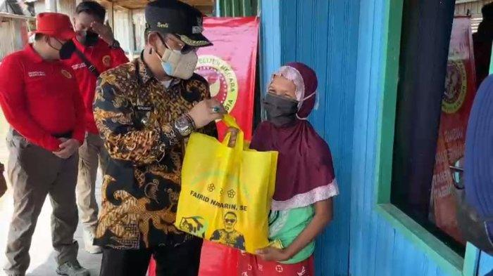 350 Dosis Vaksin Satu bagi Warga Kelurahan Pahandut Seberang Dilakukan 'Door to Door'