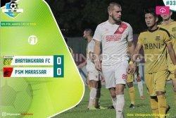 PSM Gagal Lengserkan Persija Jakarta, Skor Akhir Bhayangkara FC vs PSM Makassar : 0-0