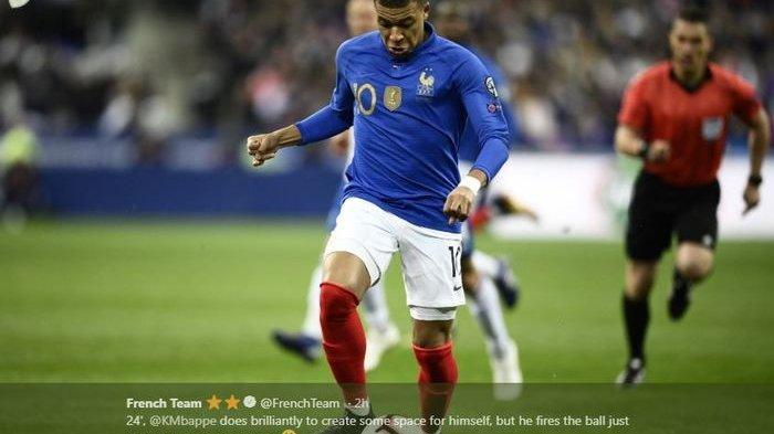 Hasil Piala Eropa 2020 - Prancis Kalahkan Islandia 4 Gol Tanpa Balas, Kylian Mbappe Cemerlang