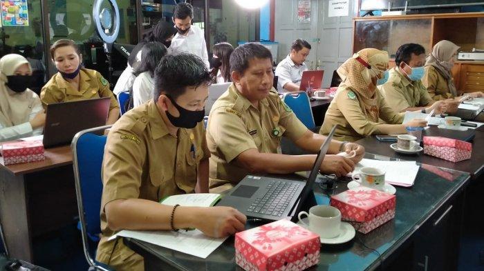 BPKAD Kapuas Ikuti Pelatihan Pengelolaan Layanan Informasi Publik