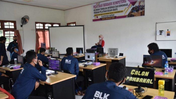 Pelatihan Kembali Diadakan BLK Kapuas Kalteng, Menjahit hingga Desain Grafis