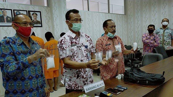 BNNP Kalteng Bongkar Jaringan 500 Gram Sabu dari Madura-Surabaya