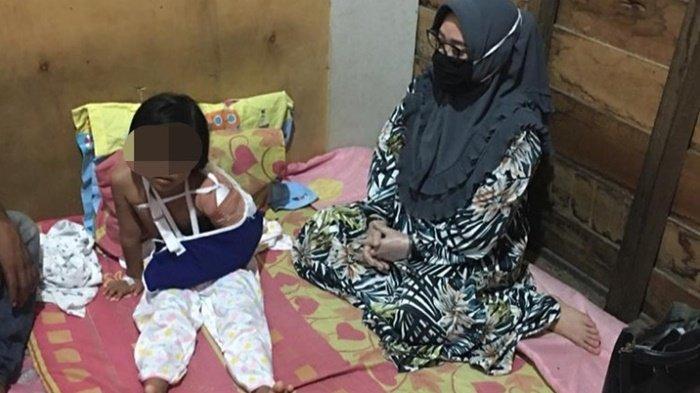 Bocah Korban Penganiayaan Sebut Pacar Ibu Ikut Mukul, Ini Upaya DP3AP2KB Kotim