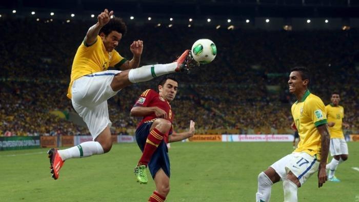 Prediksi Final Sepak Bola Olimpiade Tokyo 2020 Brasil vs Spanyol, Live TVRI, Streaming Vidio.com.