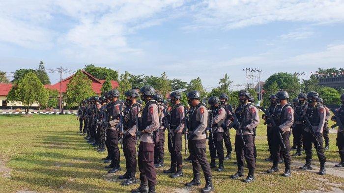 Polda Kalteng Siapkan Pasukan Pengamanan Kedatangan Presiden Jokowi ke Food Estate Pulang Pisau