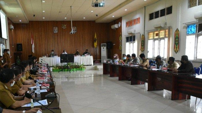 PPKM di Kapuas Kalteng Turun ke Level 3, Penyekatan Dalam Kota Kualakapuas Segera Berakhir