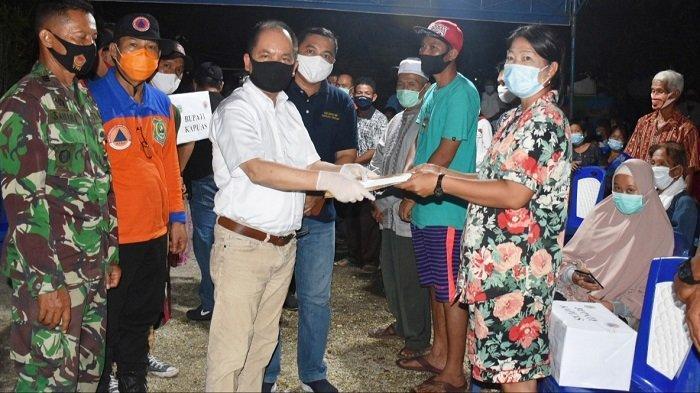Kebakaran Pasar Pujon Kapuas, Bantuan Mulai Mengalir untuk Warga Terdampak