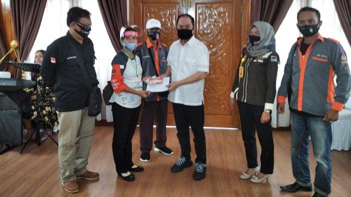 Pilkada Kalteng 2020 - PPDP Lakukan Coklit Terhadap Bupati Kapuas Ben Brahim