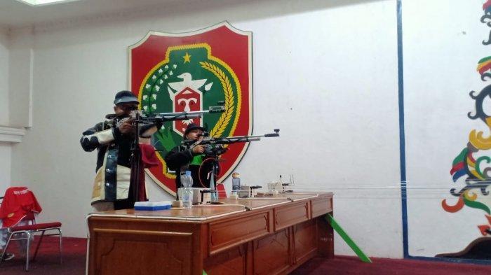 Kontingen Cabang Olahraga Menembak Kalteng Targetkan Delapan Emas di PON XX Papua