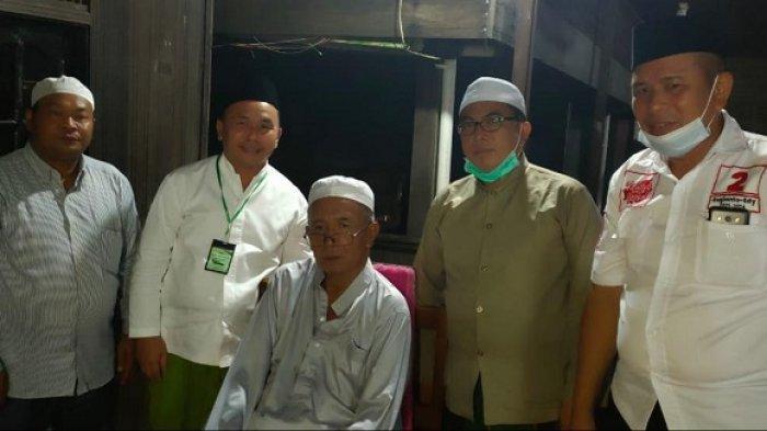 Sowan ke Guru Danau Kalsel Jelang Pilgub Kalteng, Sugianto Sabran Diminta Tetap Jujur dan Amanah