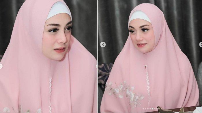 Cantiknya Celine Evangelista Berhijab di Bulan Ramadhan 1440 H, Istri Stefan Williams Curi Perhatian