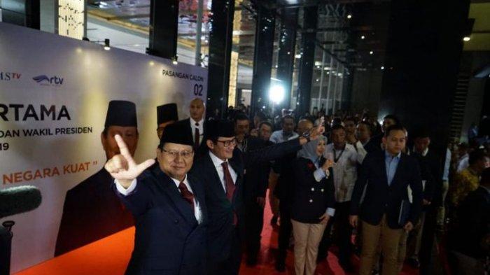 Prabowo Janji Tingkatkan Kualitas Hidup  Penegak Hukum Agar Tak Mudah Disuap