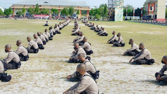 75 Calon Siswa Titipan Polda Papua Ikut Pendidikan Pembentukan Bintara Polri di SPN Tjilik Riwut