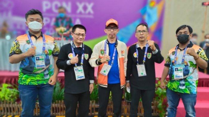 Tim Catur Beregu Standar Putra Kalimantan Tengah Raih Perak di PON XX Papua