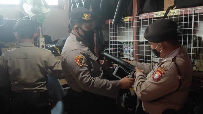 Jelang Pilkada, Subbagsarpras Polres Kapuas Kalteng Lakukan Pengecekan Alsus