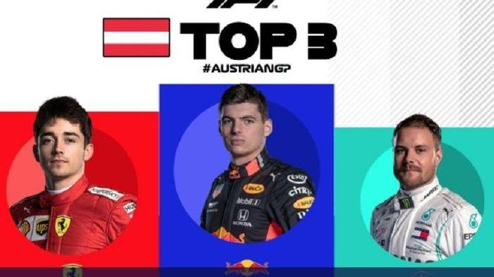 Pemegang Puncak Klasemen Hamilton Dikalahkan Max Verstappen di Formula 1 GP Austria, Ini Rinciannya