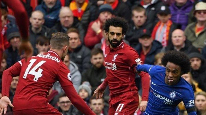 Hasil Liga Inggris - Liverpool Geser Lagi Manchester United Usai Tekuk Chelsea 2 Gol