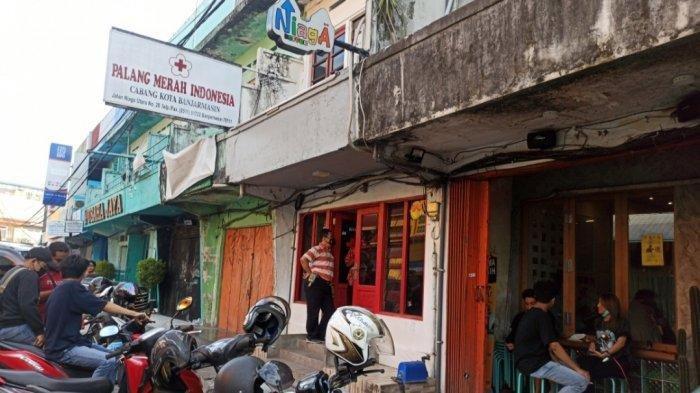 Pencurian di Banjarmasin, Maling Telanjang Bobol Coffee Shop, Terekam CCTV dan Viral di Medsos