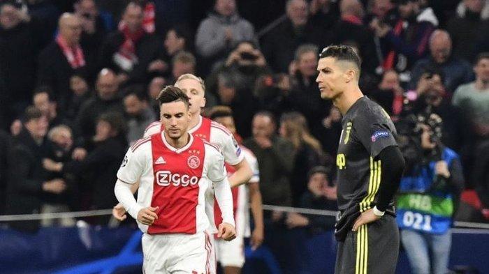 Gol Cristiano Ronaldo Disamakan David Neres Hingga Seri di Laga Juventus Kontra Ajax Amsterdam