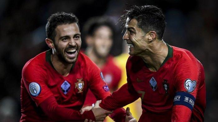 Tiga Gol Cristiano Ronaldo ke Gawang Lituania di Euro 2020, Belum Loloskan Portugal ke Putaran Final