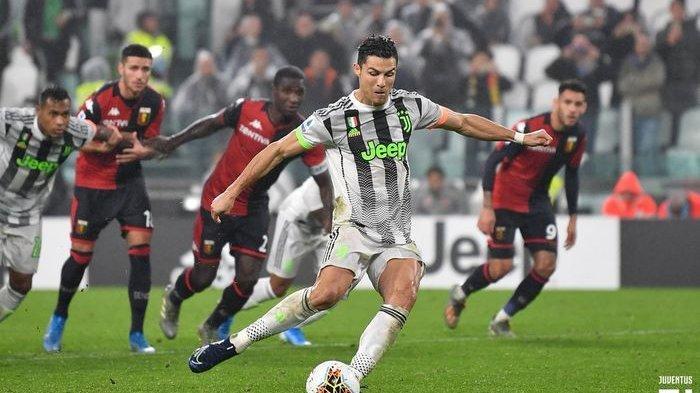 Liga Italia Pekan ke-10, Gol Cristiano Ronaldo di Akhir Laga Juventus Vs Genoa, Si Nyonya Tua Menang