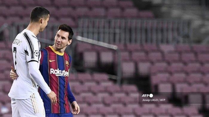 Cristiano Ronaldo : Saya Tak Pernah Anggap Lionel Messi Sebagai Saingan
