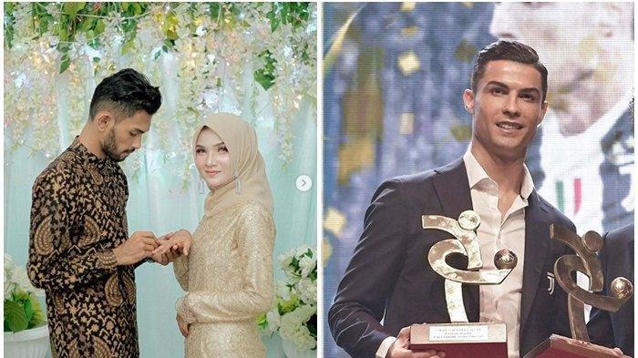 Sosok Cantik Calon Menantu Cristiano Ronaldo, Cek Foto Penampakan Sri Wahyuni saat Dilamar Martunis