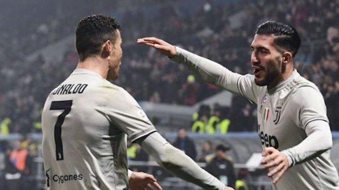 Liga Italia - Juventus Vs Sassuolo Berakhir dengan Kemenangan Telak Si Nyonya Besar