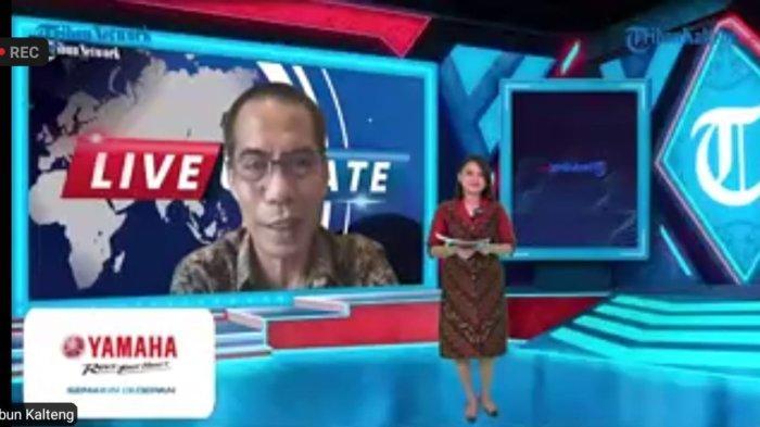 Dahlan Dahi CEO Tribun News Network Resmi Launching Tribunkalteng.com, Ini Harapannya