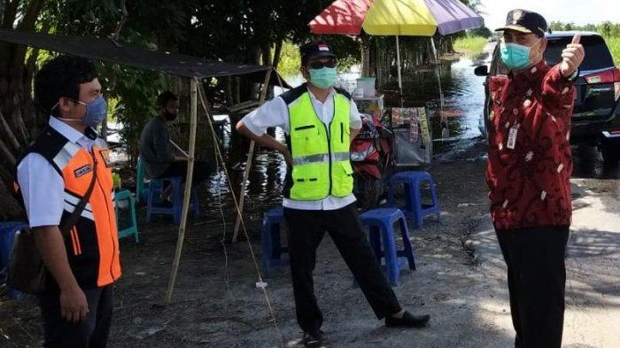 Jalan Trans Kalimantan Bukit Rawi Rawan Banjir, PUPR Kalteng Siagakan ini