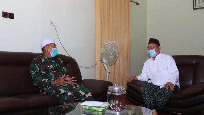 Bertemu Dandim Martapura, Imam Musalla Ar Raudah Ungkap Haul ke-16 Guru Sekumpul Ditiadakan
