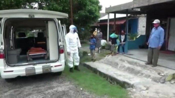 Danposal Kumai Lanal Banjarmasin Ini Jadi Sopir Ambulans Dadakan, Demi Bantu Warga Tes Swab