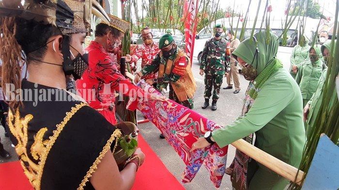 Kunjungan Kerja ke Kualakapuas, Ini Pesan Danrem 102 Panju Panjung ke Prajurit