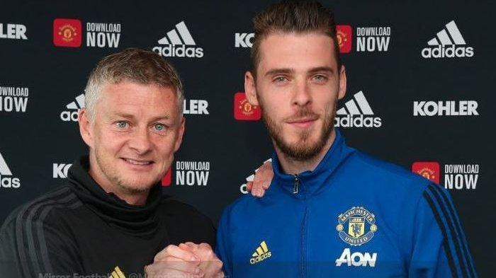 Liga Inggris - Jelang Berlaga di Liga Europa, David de Gea Jaga Gawang Manchester United Hingga 2023