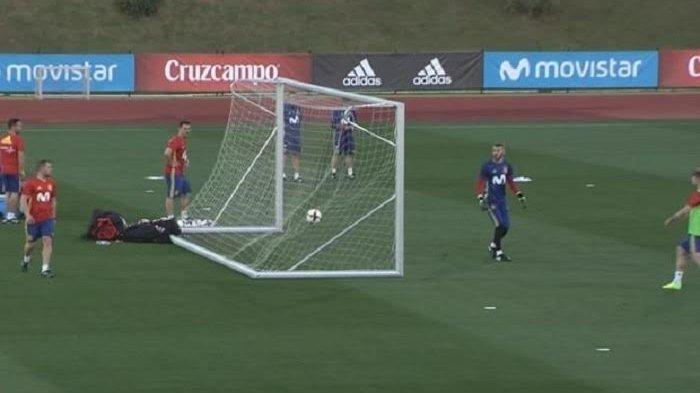 Terlihat di Video, David de Gea Terkesima Lihat Gol Rekannya
