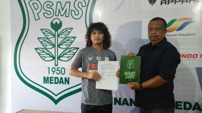 Baru 2 Minggu Bergabung, Luis Irsandi Dicoret dari Skuat PSMS Medan, Ansyari Lubis Sebut Soal Fisik