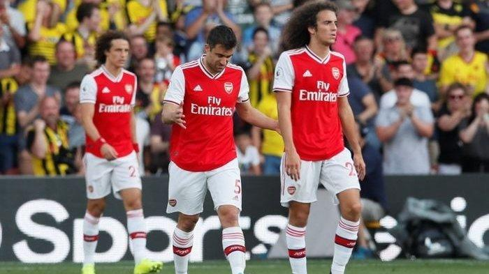 Liga Inggris di Pekan Kelima, Dua Gol Aubameyang untuk Arsenal Akhirnya Jadi Seri oleh Watford