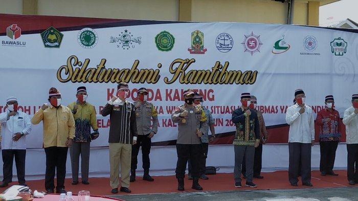 Deklarasi Pilkada Damai di Palangkaraya hingga Tingkat Kecamatan