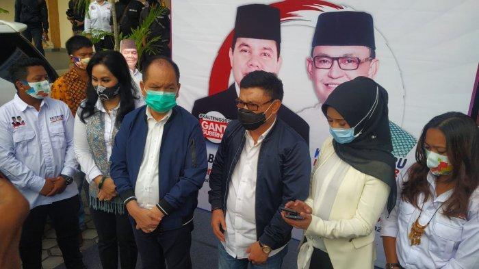 Pasangan Calon (Paslon) Gubernur dan wakil Gubernur Provinsi Kalimantan Tengah (Kalteng) periode 2020-2025, Ben Brahim S. Bahat – H. Ujang Iskandar, Minggu (13/9/2020) berlangsung meriah.