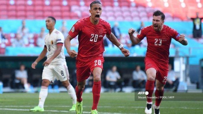 Kejutan, Denmark Bisa Lolos ke Babak 16 Besar EURO 2020, Menang Telak atas Rusia, Bakal Lawan Wales