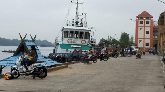 Kaltengpedia - Dermaga Habaring Hurung Sampit, Alternatif wisata dalam Kota