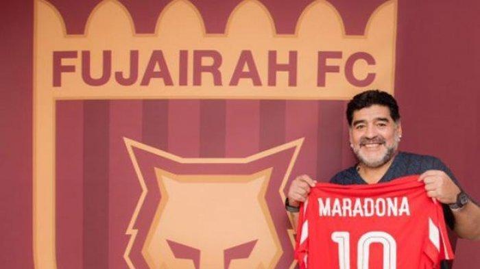Diego Maradona Latih Klub Divisi Dua Al Fujairah