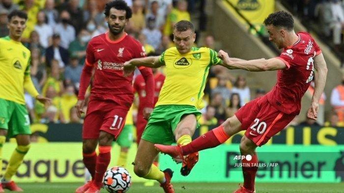Prediksi Liga Inggris Malam Ini Liverpool vs Burnley, Manchester City vs Norwich, Live SCTV, Mola TV