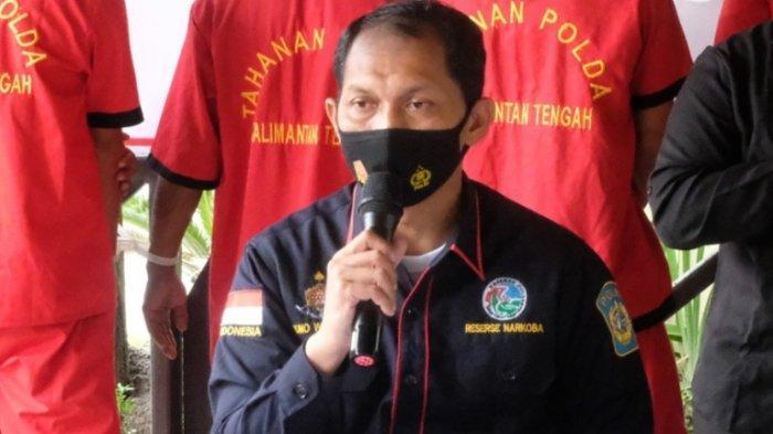 Pengedar Narkoba Kalteng Gunungmas Diringkus, Barbuk Disita 0,5 Kg Sabu, Melayani Transaksi di Rumah